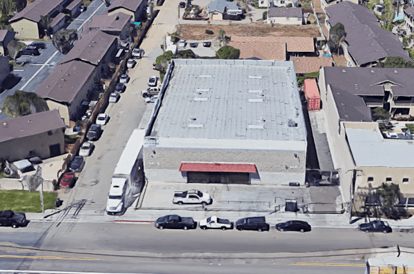 San Diego commercial loan aerial