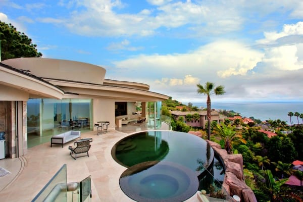 La Jolla hard money lender - beachfront home